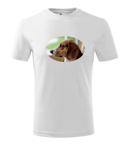 Dětské tričko s bíglem - Trička se zvířaty dětská