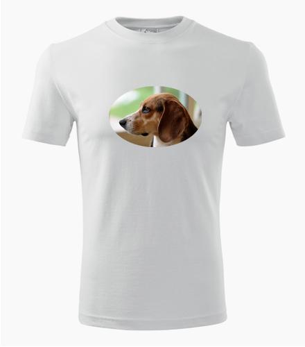 Tričko s bíglem - Dárek pro pejskaře
