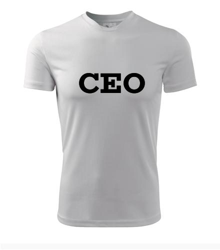 Tričko CEO - Dárek pro ředitele
