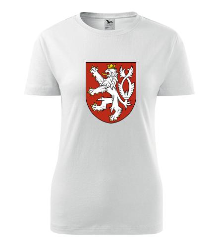 Dámské tričko Český lev - Retro trička dámská