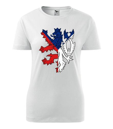 Dámské tričko s českým lvem - Vlastenecká trička