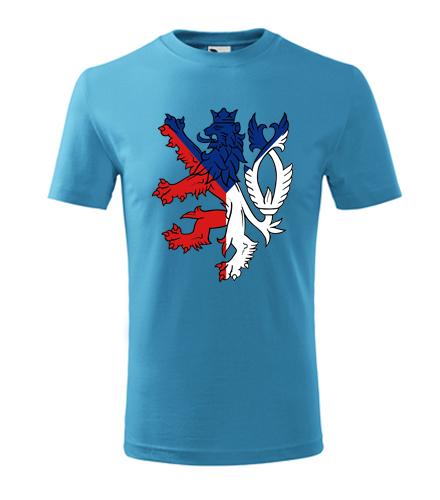 Dětské tričko s českým lvem - Vlastenecká trička