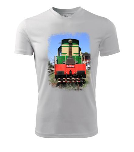 Tričko s lokomotivou Čmelák T669.1069 - Dárek pro příznivce železnice