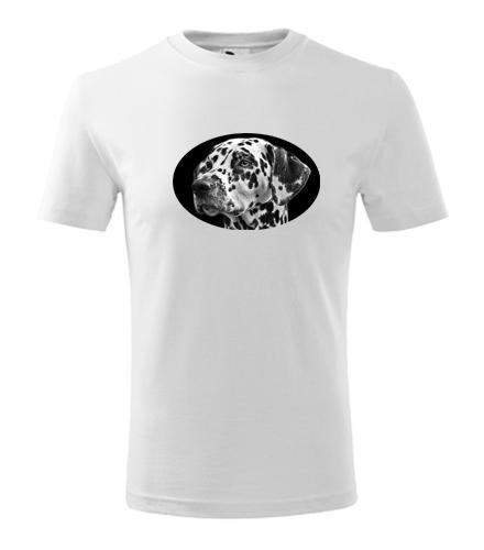 Dětské tričko s dalmatinem - Trička se zvířaty dětská