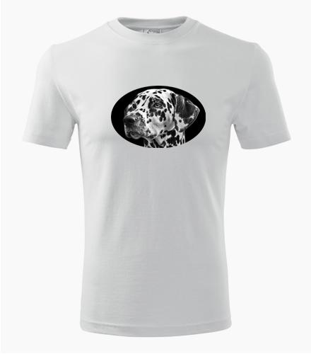 Tričko s dalmatinem - Trička se zvířaty pánská