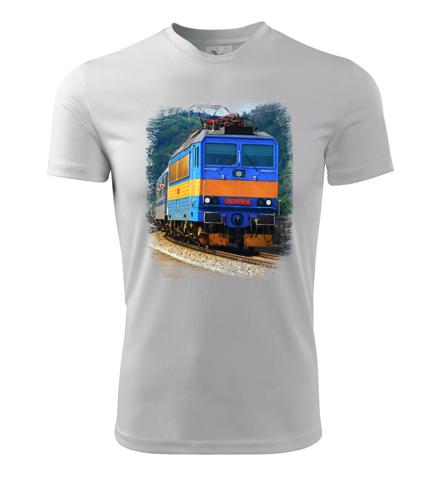 Tričko s lokomotivou Eso 362.078 - Dárek pro příznivce železnice