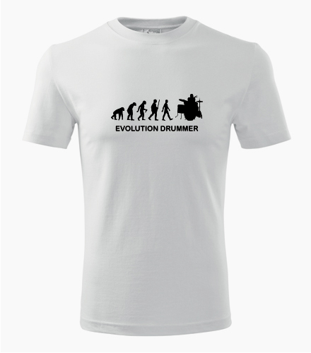 Tričko evoluce bubeník