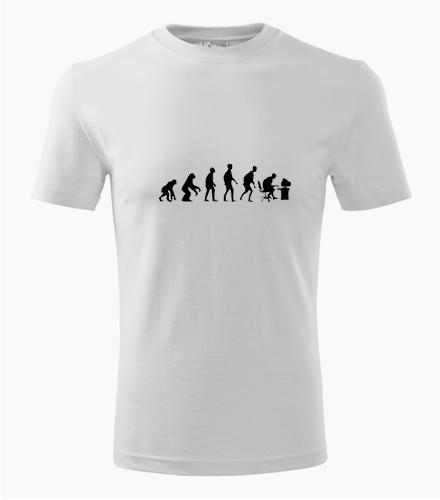 Tričko evoluce IT - Dárek pro ajťáka
