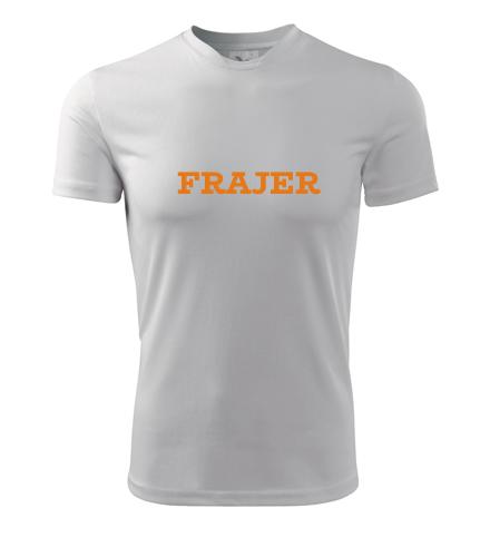 Tričko Frajer - Dárek pro řidiče kamionu