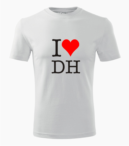 Tričko I love downhill - Trička I love - sport