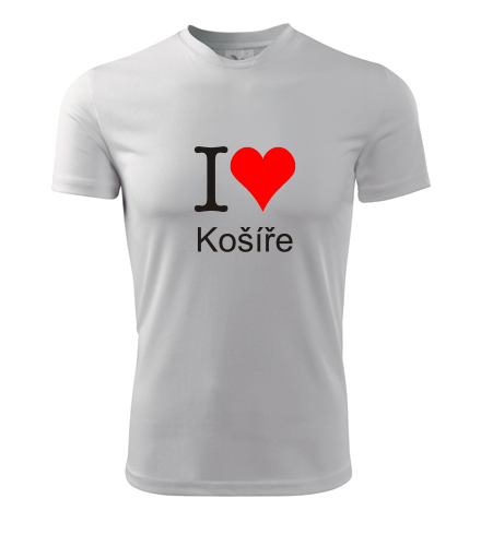 Tričko I love Košíře - I love pražské čtvrti
