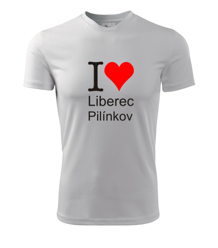 Tričko I love Liberec Pilínkov - I love liberecké čtvrti