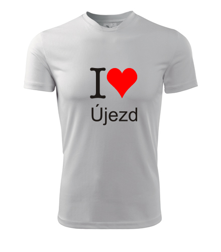 Tričko I love Újezd - I love pražské čtvrti