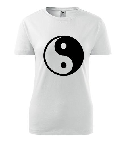 Dámské tričko Jing & Jang - Dárek pro jogína