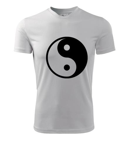 Tričko Jing & Jang - Dárek pro jogína