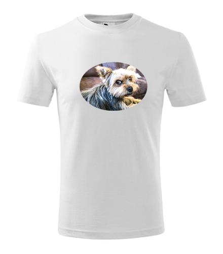 Dětské tričko s jorkšírem - Trička se zvířaty dětská
