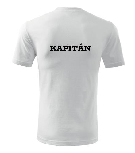 Tričko kapitán - Dárek pro vodáka