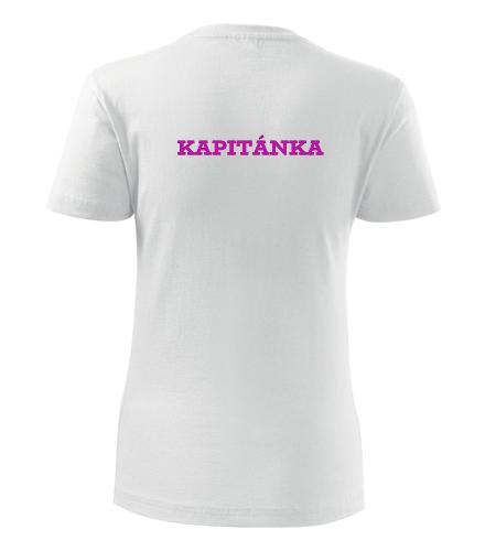 Tričko kapitánka dámské - Dárek pro vodáka