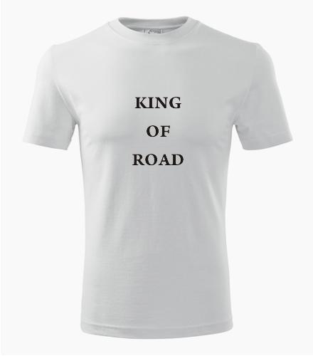 Tričko King of road - Dárky pro řidiče ještěrky