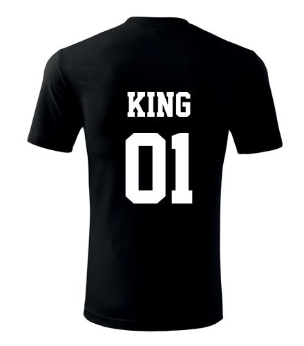 Tričko King - Dárky k Valentýnu