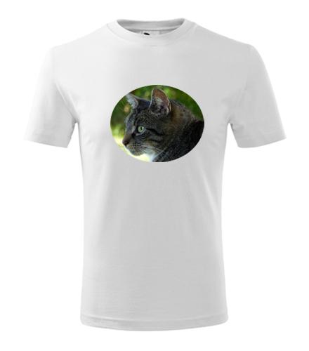 Dětské tričko s kočkou 2 - Trička se zvířaty dětská