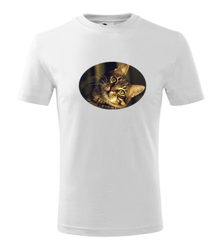 Dětské tričko s kočkou 3 - Trička se zvířaty dětská