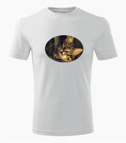 Tričko s kočkou 3 - Dárek pro chovatele koček