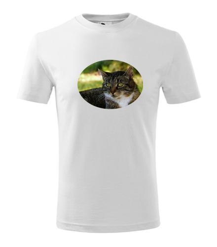 Dětské tričko s kočkou 4 - Trička se zvířaty dětská