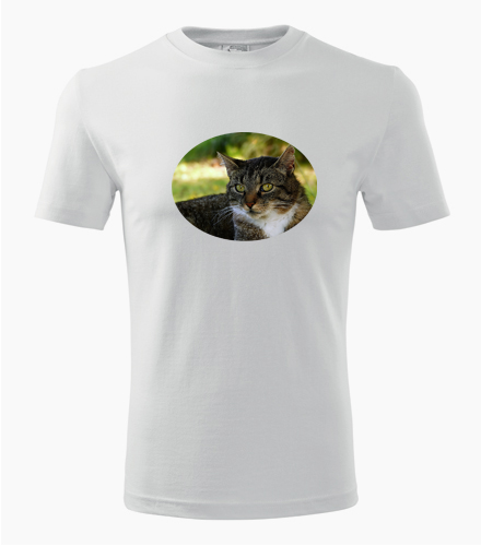 Tričko s kočkou 4 - Trička se zvířaty pánská