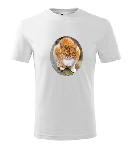 Dětské tričko s kočkou 5 - Trička se zvířaty dětská