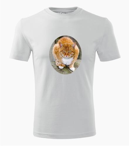Tričko s kočkou 5 - Trička se zvířaty pánská