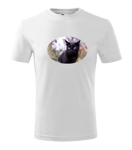 Dětské tričko s kočkou 6 - Trička se zvířaty dětská