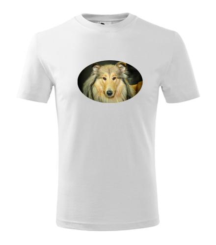 Dětské tričko s kolií - Trička se zvířaty dětská