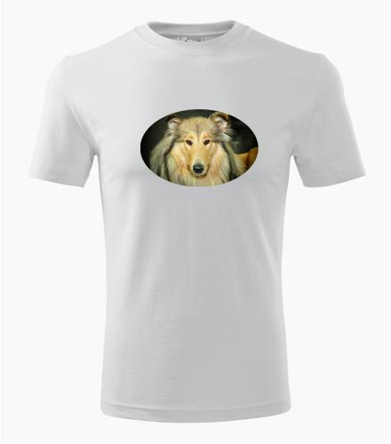 Tričko s kolií - Dárek pro pejskaře