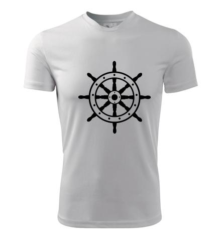 Tričko s kormidelním kolem - Pruhovaná trička pánská