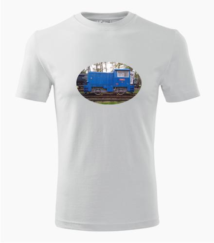 Tričko s lokomotivou t2010101 - Dárek pro železničáře