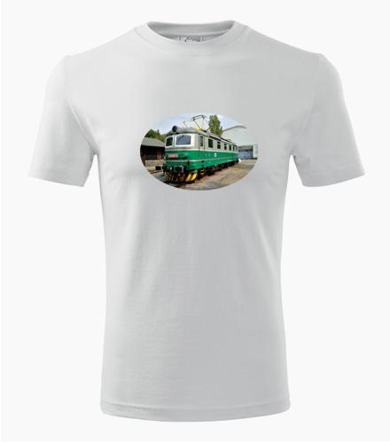 Tričko s lokomotivou 181 - Dárek pro železničáře