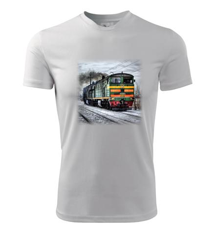 Tričko s lokomotivou Ragulin - Dárek pro příznivce železnice