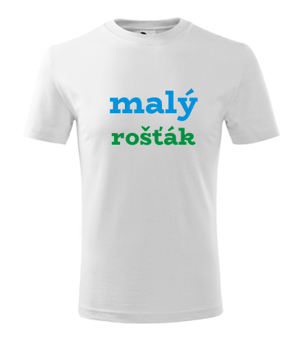 Dětské tričko malý rošťák - Vtipná dětská trička