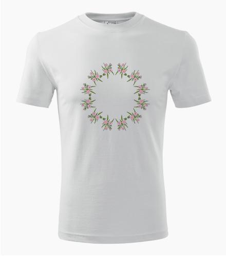 Tričko s mandalou 18 - Dárek pro jogína