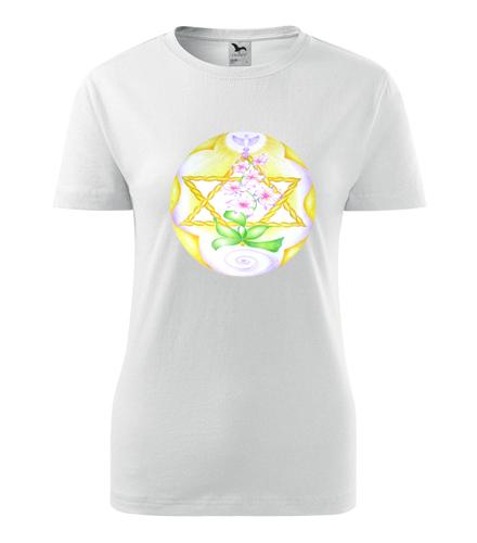 Tričko s mandalou 1 dámské - Dárek pro jogína