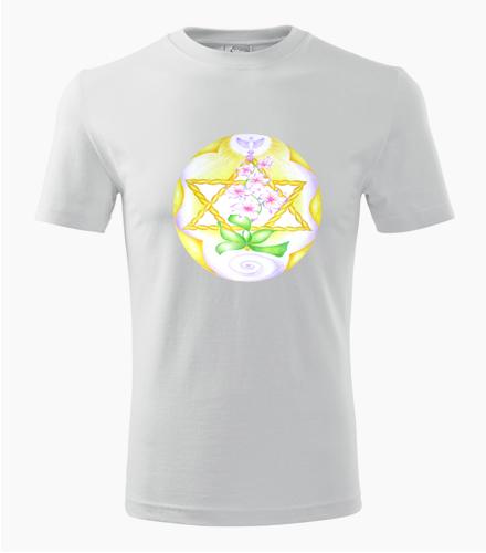 Tričko s mandalou 1 - Dárek pro jogína