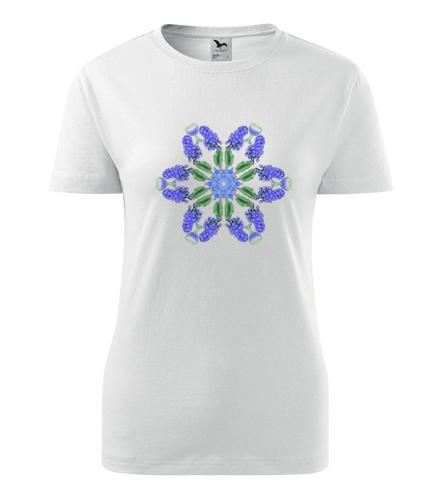 Dámské tričko s mandalou 20 - Dárek pro jogínku