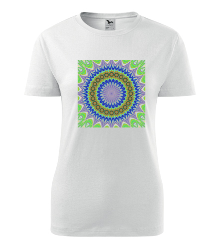 Dámské tričko s mandalou 3