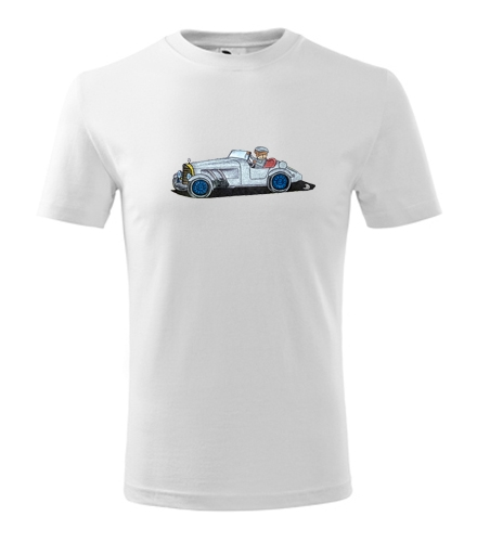 Dětské tričko medvídek v autě - Dětská narozeninová trička
