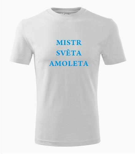 Tričko mistr světa Amoleta - Vtipná dětská trička