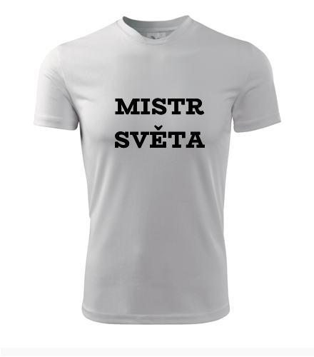 Tričko mistr světa - Dárek pro fanouška fotbalu