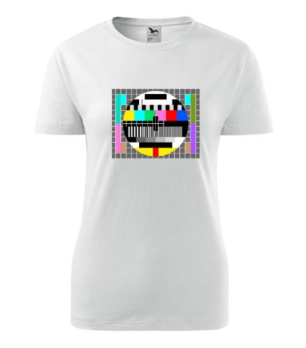 Dámské retro tričko Monoskop - Retro trička dámská