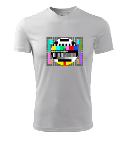 Retro tričko Monoskop - Retro trička pánská
