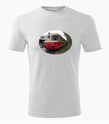 Tričko s motorovým vozem 820-056-0 - Dárek pro příznivce železnice